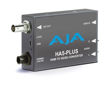 AJA HA5-Plus HDMI a 3G-SDI Mini-Converter
