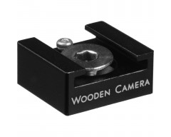 Wooden Camera 1/4-20 Shoe Mount, per microfono ed altri accessori