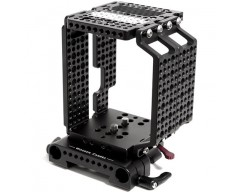 Wooden Camera WC-146200 Multi-Purpose Cheese Cage + (19mm) per RED Epic e Scarlet Camera