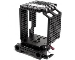 Wooden Camera WC-146200 Multi-Purpose Cheese Cage + (19mm) per RED Epic e Scarlet Camera