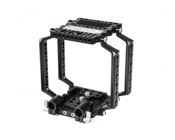Wooden Camera 148400 NATO Cage with 15mm Studio Bridgeplate (4 Arms)
