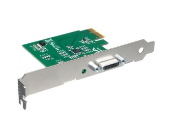 AJA IOCARD-X1 1-Lane PCIe Card to PCIe Cable Interface Adapter