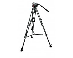Manfrotto Kit 504HD, treppiedi 546B, stabiliz. 537sprb,sacca MBAG100PN