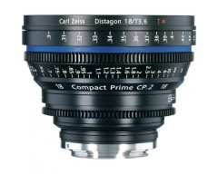 Zeiss Compact Prime CP.2 3.6/18mm T* - metric / EF Mount