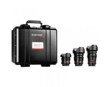 Samyang VDSLR KIT 3 (8mm + 16mm + 35mm)