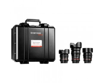 Samyang VDSLR KIT 2 (14mm + 35mm + 85mm )