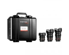 Samyang VDSLR KIT 1 (14mm + 24mm + 35mm)