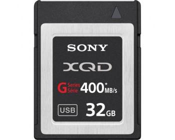 Sony scheda di memoria XQD G Series - 32GB alta velocità fino a 400MB/s R-W