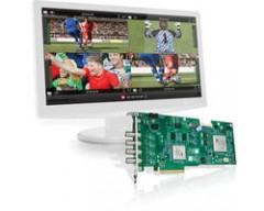 Matrox VS4 HD-SDI Capture Card con VS4Recorder Pro Software Bundle