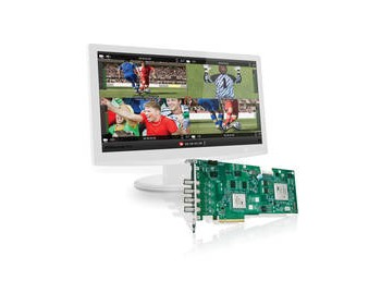 Matrox VS4 HD-SDI Capture Card with VS4Recorder Pro Software Bundle