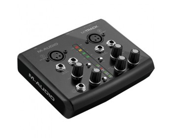 M-Audio M-Track Plus - USB Audio/MIDI Interface with Avid Pro Tools Express