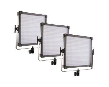 F&V K4000 Daylight LED Studio Panel 3 Lights Kit