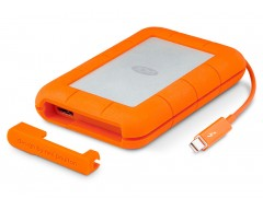 LaCie Rugged Thunderbolt/USB3.0 2TB up to 387 MB/s