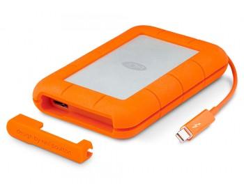 LaCie Rugged Thunderbolt/USB3.0 2TB up to 387 MB/s