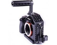 LockCircle Birdcage A7 Kit per Sony A7 completo di Lockport HDMI Micro/Full e maniglia superiore