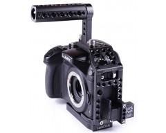 LockCircle Birdcage GH4 Kit per Panasonic DMC-GH4 completo di Lockport HDMI Micro/Full e maniglia superiore
