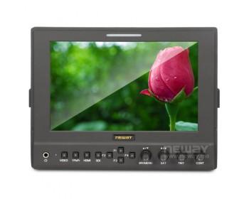 """LCD-7MCH Monitor Professionale 7"""" LCD 16:9 - 1280x800 - Video Composito , YUV e HDMI portabatterie Canon LP-E6"""