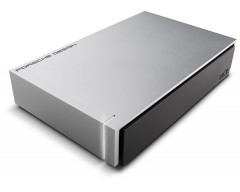 LaCie Porsche Design Desktop Drive P'9233 USB 3.0 Light Grey 4 TB / USB 3.0