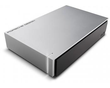 LaCie Porsche Design Desktop Drive P'9233 USB 3.0 Light Grey 4 TB / USB 3.0