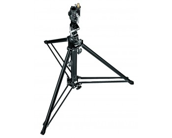 Manfrotto Stativo low base con gamba livellamento nero