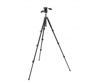 Manfrotto Kit 294 alu + testa a 3 movimenti e Quick Release RC2 4 sez.