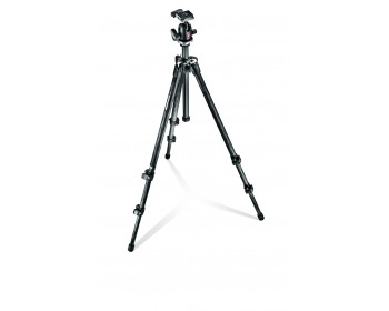 Manfrotto  Kit 294 carbonio 3 sez. + testa a sfera e Quick Release RC2