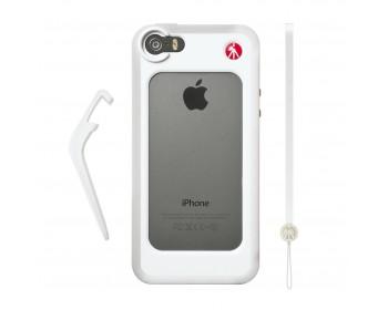 Manfrotto Bumper per iPhone 5/5S bianco, luce LED, Pixi bianco