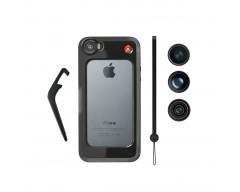 Manfrotto Bumper per iPhone 5/5S nero, 3 obiettivi, Pixi nero