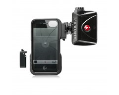 Manfrotto Custodia per Iphone4/4S con 2 adatt. + luce LED Mini ML240