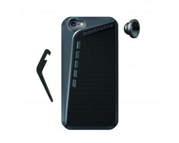 Manfrotto Kit composto da custodia per Iphone 6 e lente fisheye