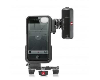 Manfrotto Custodia per Iphone4/4S + LED Pocket ML120 + supp. Pocket