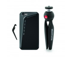 Manfrotto Kit composto da custodia per Iphone6 plus e supporto PIXI