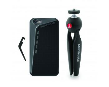 Manfrotto Kit composto da custodia per Iphone6 plus e supporto PIXI