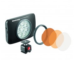 "Manfrotto Luce LED LUMIE ""Muse"" a 8 LED"