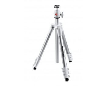 Manfrotto Treppiedi Compact Light bianco con testa a sfera