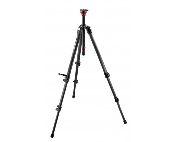 Manfrotto Treppiedi video MDEVE in carbonio, colonna base livell. 50mm
