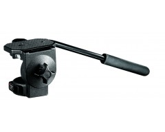 Manfrotto Testa fluida video con piastra larga