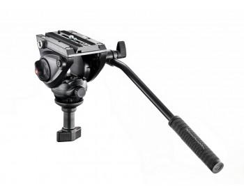 Manfrotto Testa video con semisfera da 60mm, 1 leva fissa