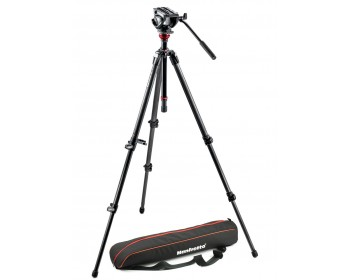 Manfrotto Kit 500, treppiede CF 755CX3, sacca di trasporto