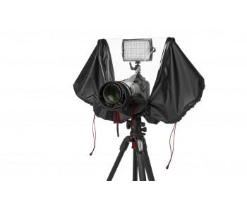Manfrotto Copertura antipioggia per reflex + ob. 200 mm + flash