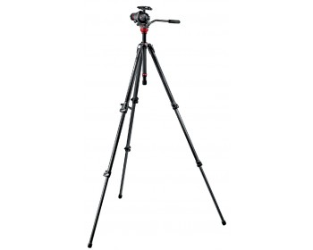 Manfrotto Kit 755CX3 + testa foto/video 055 con Quick Release 5