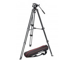 Manfrotto Kit 500, treppiede telescopico a doppio tubo MVT502AM sacca