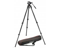 Manfrotto Kit 500, treppiede CF 535, sacca di trasporto