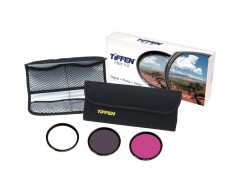 Tiffen 49mm Video Intro (DLX 3 Filter) Kit (UV Protector, ND 0.6, FLD Filters & 4 Pocket Pouch)