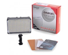 Aputure Faretto LED CRI95 + Amaran AL-H160 da 160 On Camera LED Light