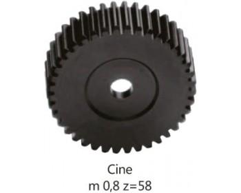 F&V drive gear per Follow Focus (Cine 0.8 pitch)