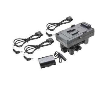F&V sistema di batteria con attacco a V (V-Mount)