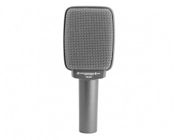 Sennheiser e 609 Silver microfono per amplificatore basso e chitarra, dinamico, supercardioide, 40-15.000 Hz