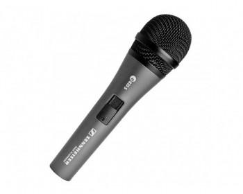 Sennheiser e 825 S microfono per voce, dinamico, cardioide, 80-15.000 Hz, con interruttore