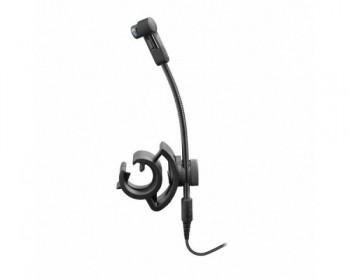 Sennheiser E908B microfono a collo di cigno per strumenti a fiato,con pinza per il fissaggio
